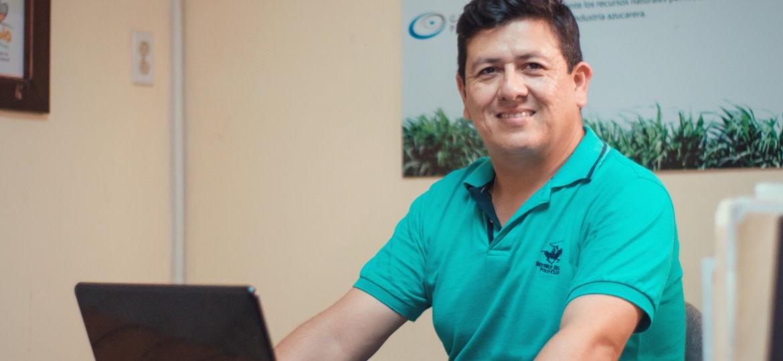 Ingeniero Mario López – Servicios Generales y Encargado de RSE en la Compañía Azucarera SER Chumbagua